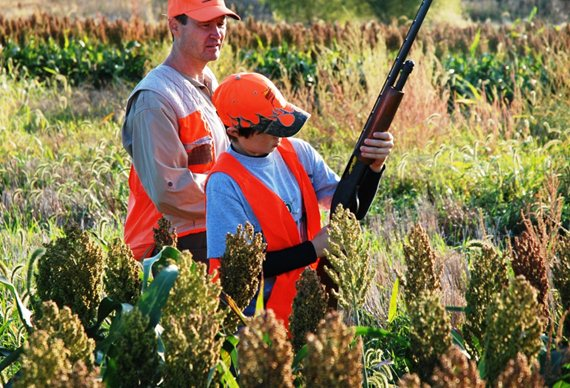 Pheasants Forever members are working to leave the future of upland hunting and conservation in good hands. Photo by PF member Aaron Atkinson