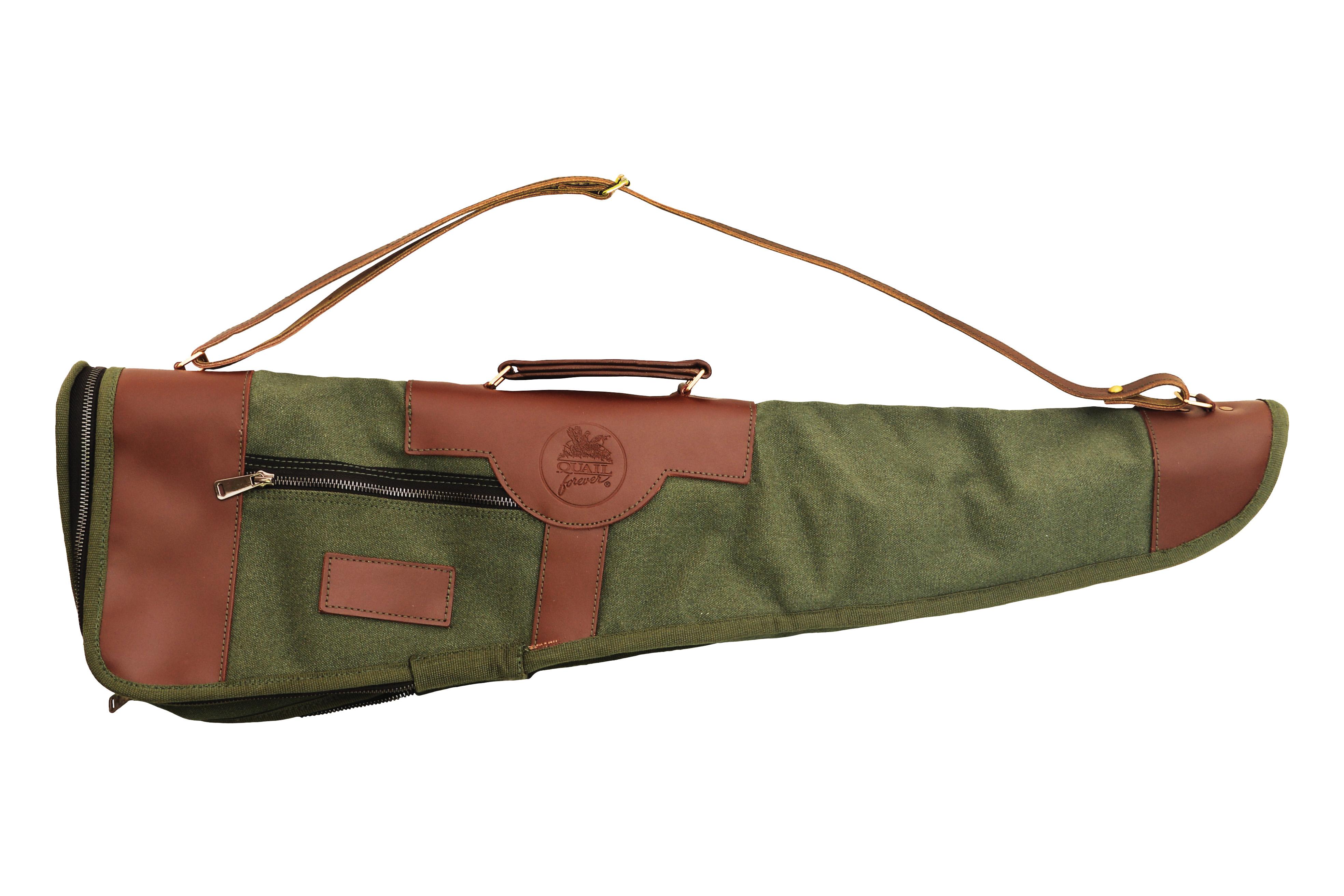 """QF Takedown O/U Shotgun Case-30""""-Green"""