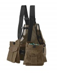 QF Orvis Waxed Cotton Strap Vest