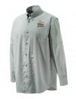 QF Beretta TM Tech Shirt - Light Gray