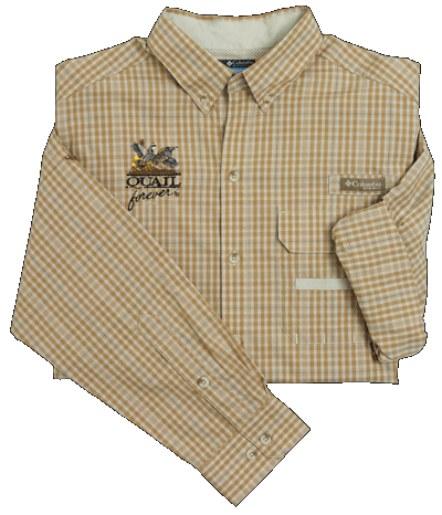 QF Columbia Sharptail Shirt - Fossil