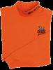 QF Beretta Mock Turtleneck - Orange