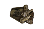QF Limited Edition 2020 Pin in Antique Brass