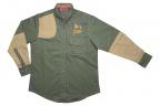 QF Boyt Women's High Prairie Hunting Shirt - Green/Tan