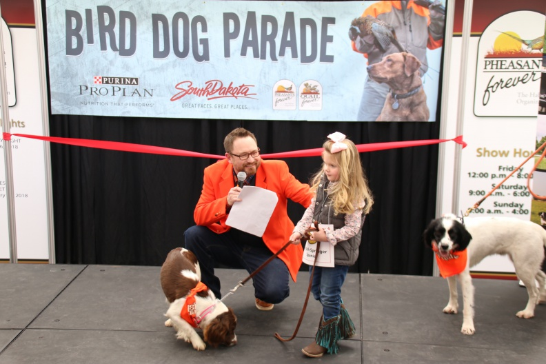 The annual Bird Dog Parade kicked off Quail Classic 2018 in Sioux Falls.