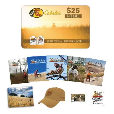 Covey Club Membership + $25 Bass Pro Shops & Cabela's Gift Card