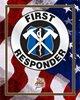 QF Patriotic Metal Sign - First Responder