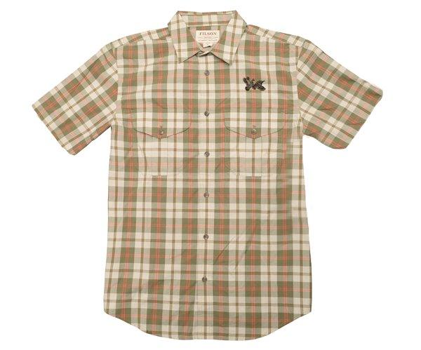 QF Filson's Feather Cloth Short Sleeve Shirt - Plaid