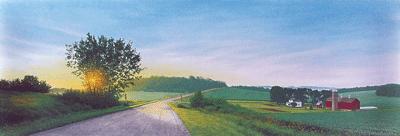 Winding Summer Road-Kozar