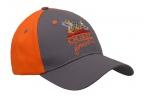 QF Over/Under Hat-Gray/Orange