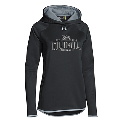 QF Womens Under Armour Double Threat Hoody