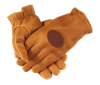 QF Insulated Deerskin Gloves