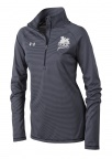 QF Under Armour Women's Stripe Tech 1/4 Zip - Blue
