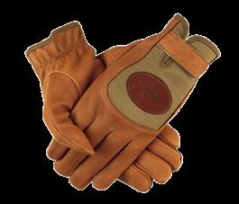 QF Mesh Deerskin Shooting Gloves