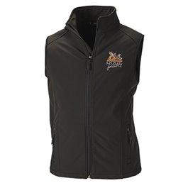 QF Dunbrooke Archer Softshell Vest - Black