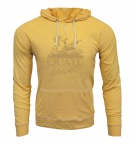 QF Unisex Jersey Slub Hoodie - Yellow