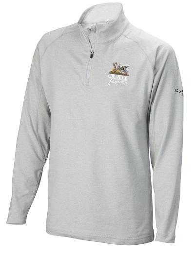 QF Puma 1/4 Long Sleeve Popover