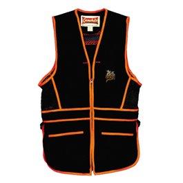 QF Gamehide Range Vest Black/Orange
