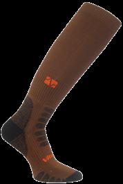 Vitalsox Compression Socks - Brown