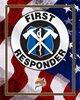 PF Patriotic Metal Sign - First Responder