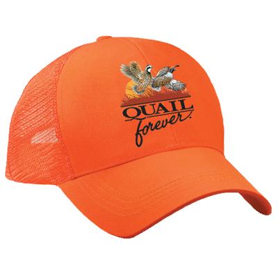 QF Orange Mesh Hat