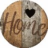Home - Round Wood Sign