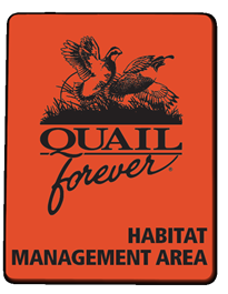 QF Habitat Management Area Sign