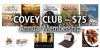 Covey Club MEMBERSHIP + Hank Shaw Cookbook