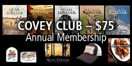 Covey Club MEMBERSHIP + Hank Shaw Cookbook