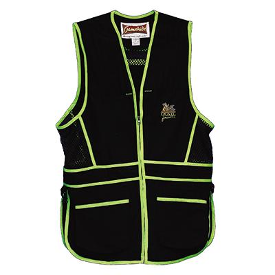 QF Gamehide Range Vest Black/Lime