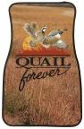 Quail Forever Car Mats-Set of 2