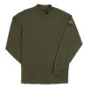 QF Beretta Mock Turtleneck - Loden