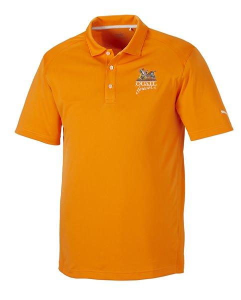 QF Puma Pounce Polo - Vibrant Orange