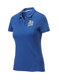 QF Puma Women's Pounce Polo - True Blue