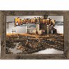 Pheasant Country Framed Mirror