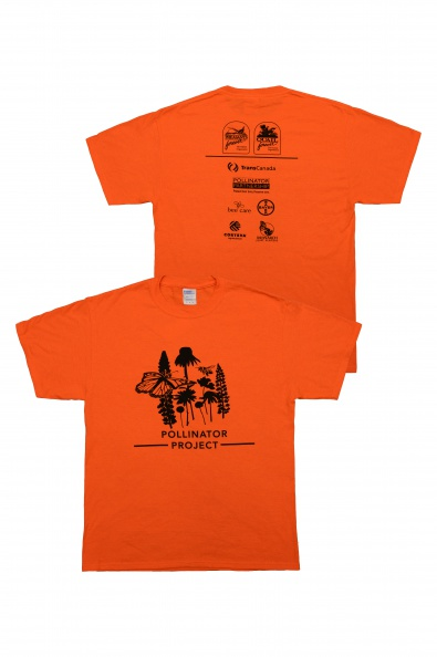 PF/QF Pollinator T-Shirt Orange