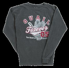 QF Long Sleeve Quail Homerun T-shirt