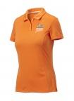 QF Puma Womens Pounce Polo - Vibrant Orange