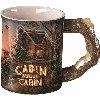 Cabin Sweet Cabin Sculpted Mug
