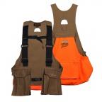 QF Gamehide Covey Strap Vest - Tan/Blaze