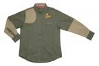 QF Boyt High Prairie Hunting Shirt - Green/Tan
