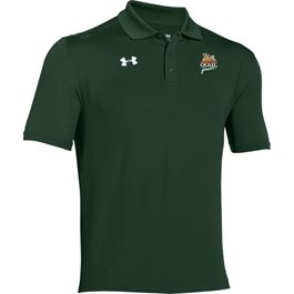 QF Under Armour Team Armour Polo - Forest Green