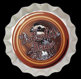 QF Bobwhite Brew Bottlecap Wall Art